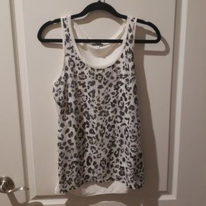 Express size small sequined top